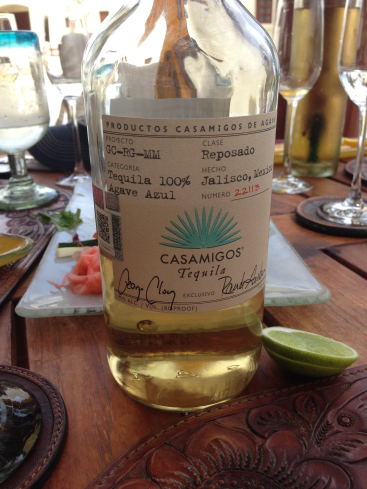 Creators of Casamigos Tequila: George Clooney & Rande Gerber.